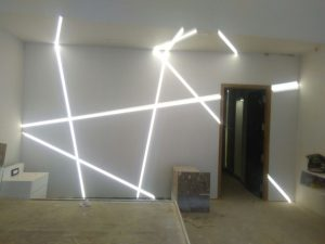 Lights installed at a home